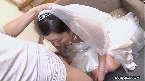 เจ้าสาวแสนสวยโดนเย็ดในวันงานแต่ง